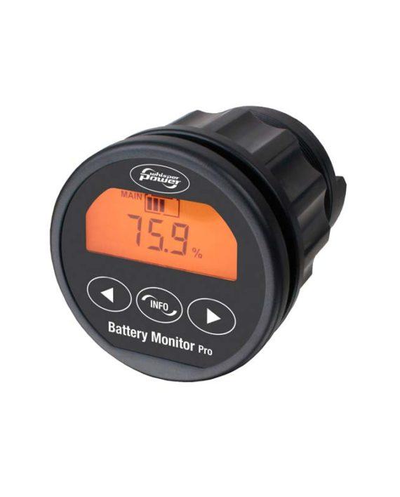Marine Battery Meter Monitors : Wbm battery monitor pro hv damarine