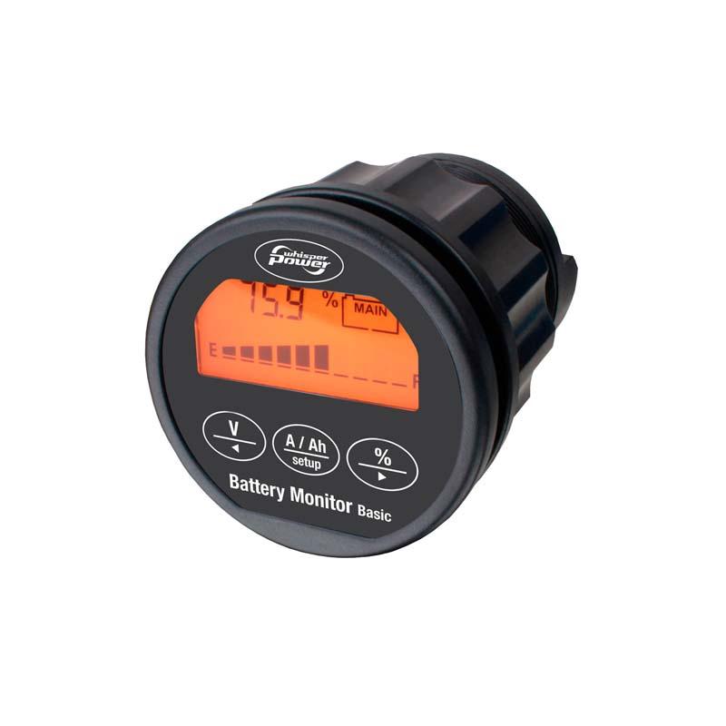Marine Battery Monitoring System : Wbm battery monitor basic damarine