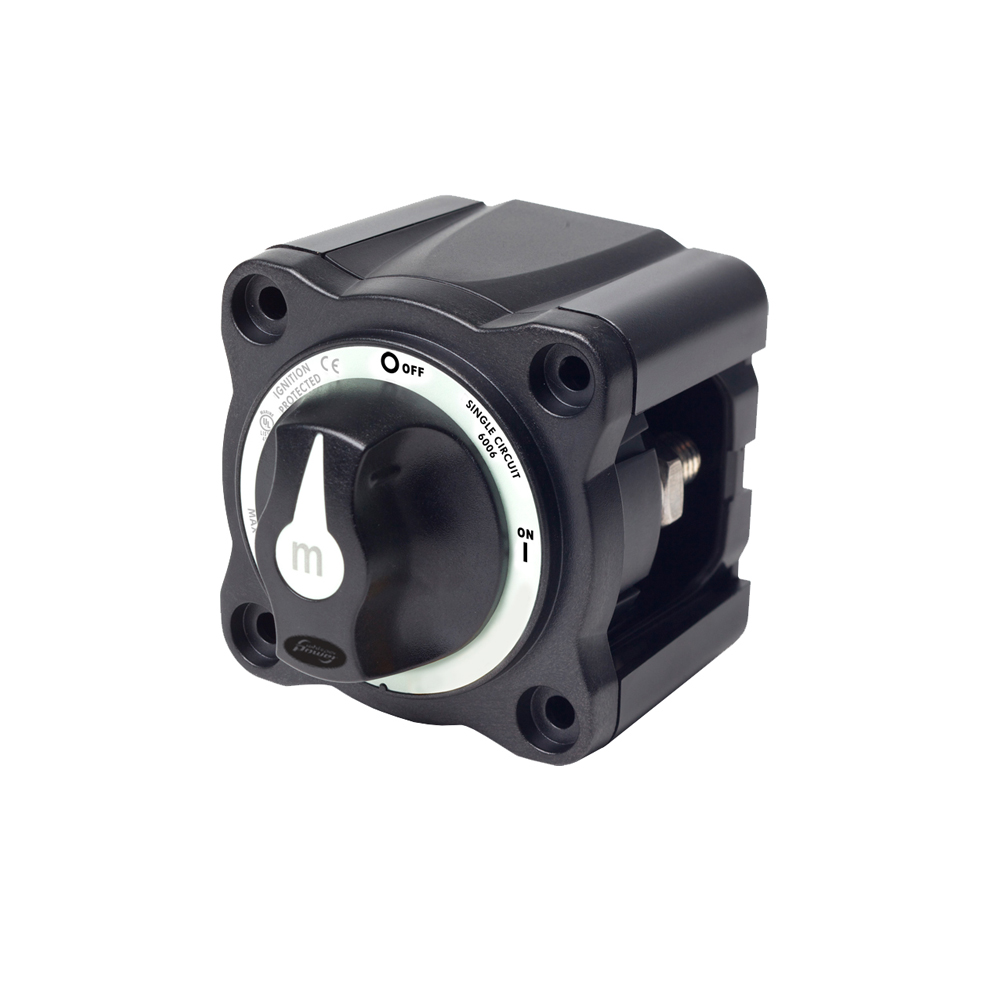 WP-Compact Manual Battery Switch 300A, single circuit ON-OFF   Damarine