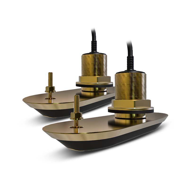 RV-212 Starboard12° / RV-220 Starboard20° Bronze Through Hull Transducer  Pack | Damarine
